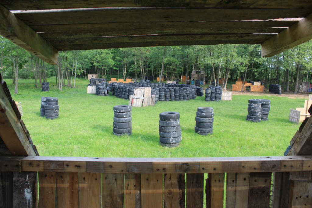Mapa Paintball Konin